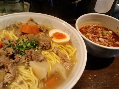 つけ麺や 穣 (野沢) つけ麺牛すじ