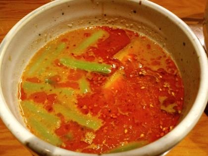 臥龍 (三軒茶屋) 味噌とラー油のつけ麺
