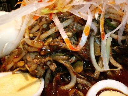 蒙古タンメン中本 目黒店 (目黒) 黒味噌卵麺