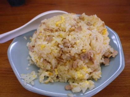 光楽亭 (大森) ラーメン(小)&肉チャーハン