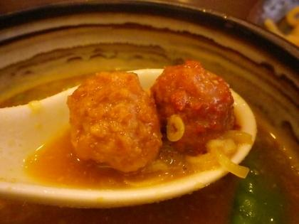 つけそば 麺彩房 五反田店 (五反田) カレーつけ麺