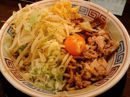 麺屋ZERO ONE (蒲田) ガッツリ!汁なし麺