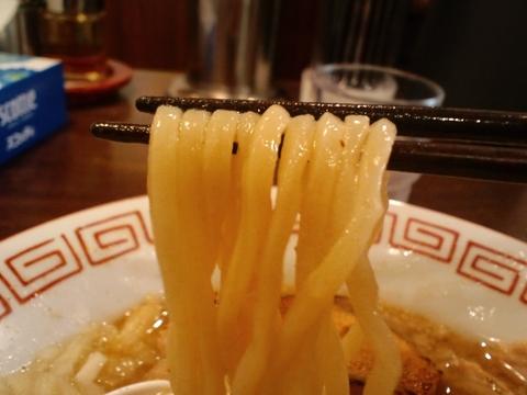 濃厚中華そば つけ麺 なおじ (目黒) 肉ラーメン