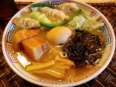 とよや (大井町) 全部入り汁麺一周年バージョン