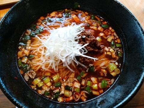 ラーメン勝ち抜きバトル (麺)ハレノヒ) 赤湯麺