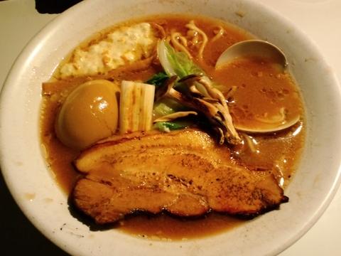 そばはうす不如帰 (幡ヶ谷) 蛤の味噌
