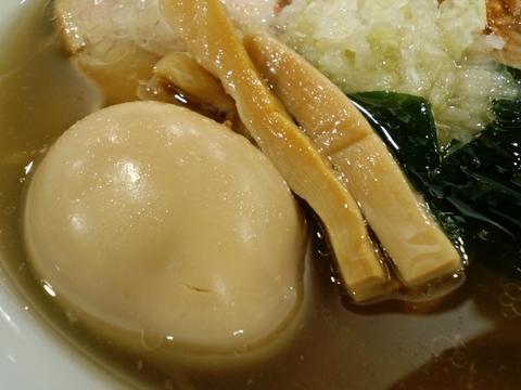 創彩麺屋 野の実 (東名足柄SA) 煮玉子塩らぁ麺