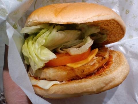 川越達也プロデュース イタリアンチキンバーガー ロッテリア