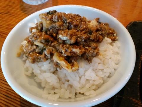 背脂煮干そば 晴 (戸越銀座) 汁なし鉄板担々麺
