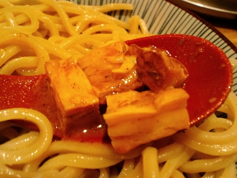 つけ麺屋銀四郎 (蒲田) スパイシーカレートマトチーズつけ麺