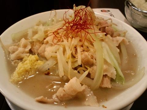 魁 肉盛りつけ麺 六代目 けいすけ (湯島) 肉盛りつけ麺