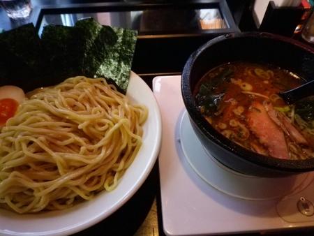 銀座ラーメン (東銀座) のり玉つけ麺