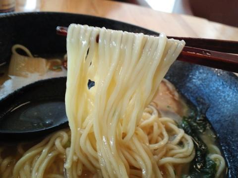 ラーメン勝ち抜きバトル (麺)ハレノヒ) とろ葱塩らぁ麺