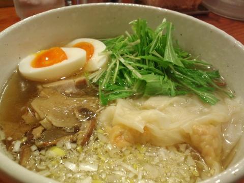 麺処 芳たけ (大森) 中華ワンタン麺