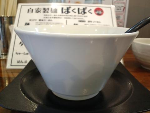 自家製麺ばくばく (木更津) 醤油らーめん