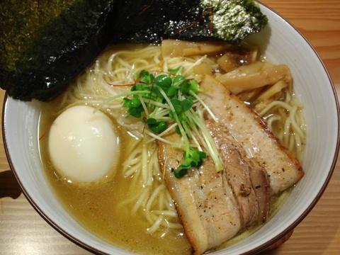 麺や ひだまり (千駄木) 全部入り和塩らぁ麺