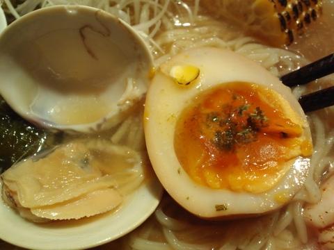 そばはうす不如帰 (幡ヶ谷) 鶏と蛤の冷や汁塩そば