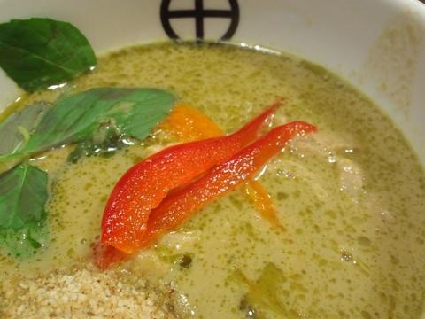 らーめん田 DEN (西大井) Green Curryつけ麺