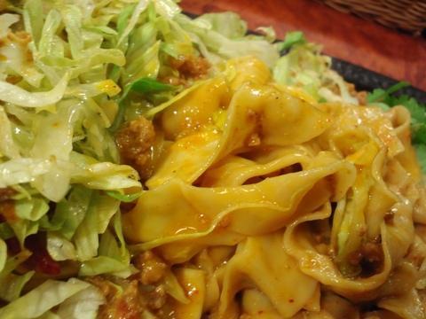 ら~めん晴 (大森) 汁なし鉄板担々麺