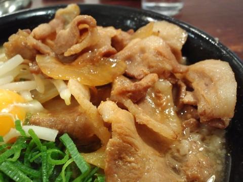 肉ばかラーメン なおじ (目黒) 肉ばかラーメン醤油