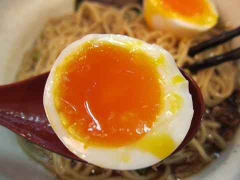 麺場 MILESTONE (京急蒲田) わさび醤油牛キノコ
