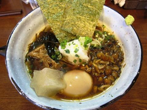 麺場 ながれぼし (京急蒲田) 淡麗醤油ラベルExCold