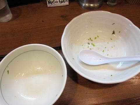 麺処 びぎ屋 (学芸大学) 潮の塩和えつけ麺~生のり仕立て~