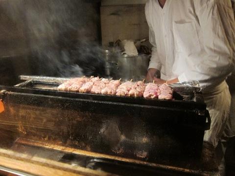 やきとり まさ吉 (武蔵小山) 冷やし夏野菜鶏そば