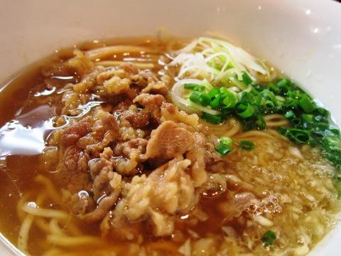 牛骨らぁ麺マタドール (北千住) ブーケガルニの醤油らぁ麺