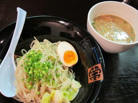 麺屋 二刀拳 (錦糸町) シビレキューブ付柚子味噌つけ麺