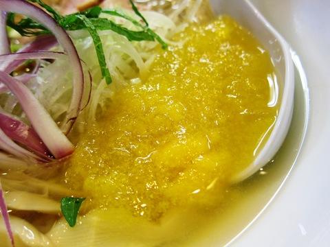 地獄ラーメン 天国屋 (成瀬) 湯河原産オレンジ果汁冷し塩麺
