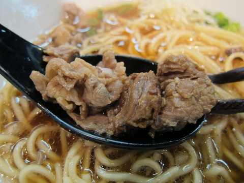 牛薫る麺処 嵐風 (新井薬師) 牛醤油らぁ麺
