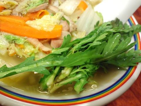 ら~めん晴 (大森) 有機野菜たっぷりタンメン
