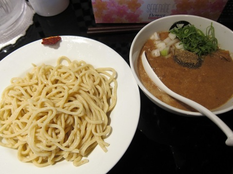 666 (駒沢大学) コンデンス煮干つけ麺