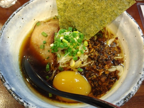 麺場 MILESTONE (京急蒲田) 醤油ラーメン