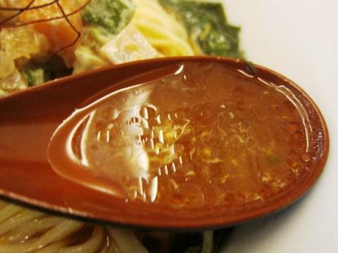 麺処hachi (新宿) オクラとモロヘイヤの冷たい酸辣湯麺