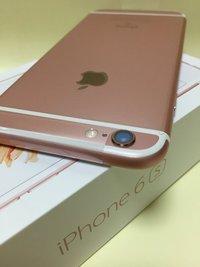 iPhone6sのローズゴールドを買ったよ