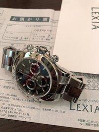 腕時計自分メモ 20180408
