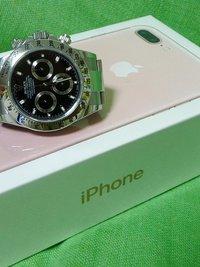 iPhone7 Plusのローズゴールドを買ったよ