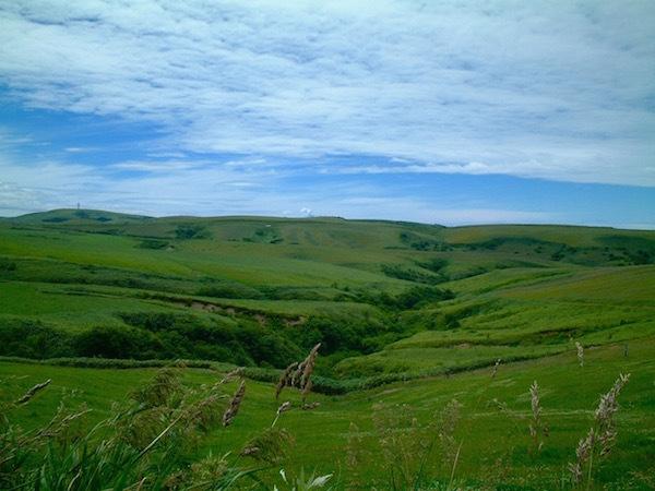 最北端の地に疑問を感じつつ 宗谷丘陵に見惚れてみる