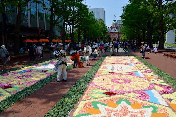 笑顔が溢れる SAPP‿RO Flower Carpet