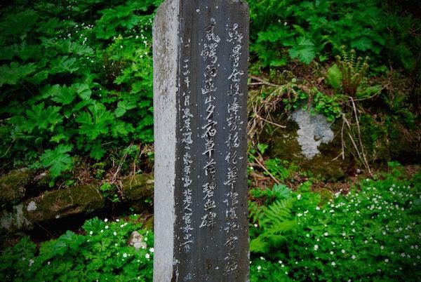 碧血碑の微妙な立場と石川啄木について