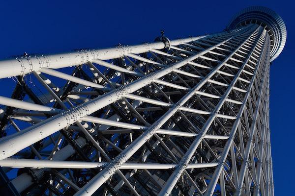 日本一の武蔵の塔 東京スカイツリー