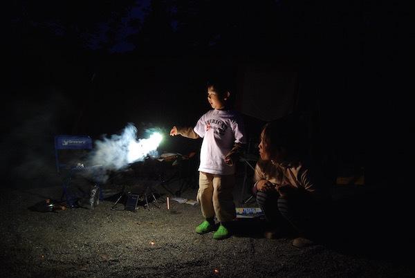 道民の森にキャンプに行ってみた