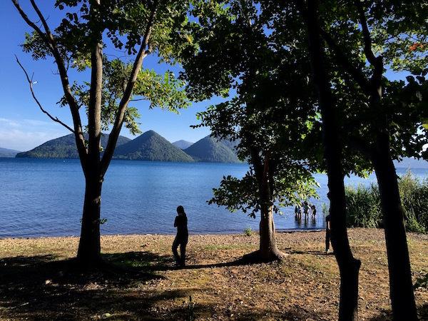 洞爺湖の湖畔の静けさと美しさ 財田オートキャンプ場
