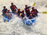 清流日本一の尻別川で遊ぶ 人生初のラフティング!
