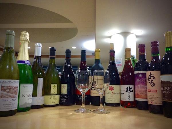 道産ワインの飲み比べ そしてワイナリー巡り