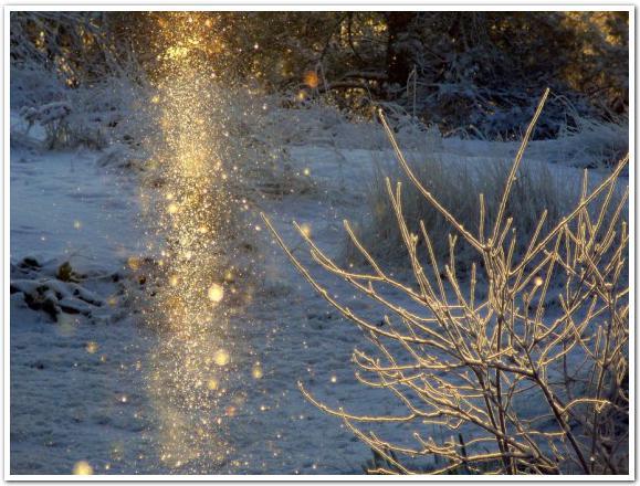 厳寒の夜空に輝く天の文字復活の予感! 名寄市