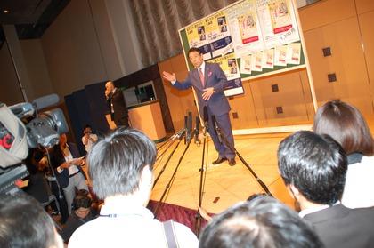 佐藤のりゆき氏が講演会「今しばらくお待ちください」