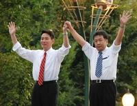 民進党の再生なるか?前原・枝野両候補が来札